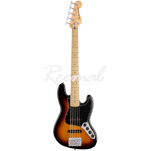 Fender Mexican Bass Guitar Deluxe Active Jazz Bass V 3TSB