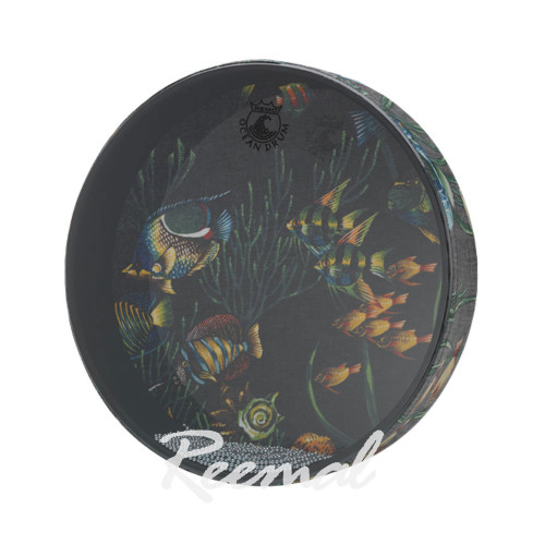 Remo Ocean Drum Standard Fish Graphic ET021210