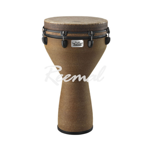"Remo Djembe Key Tuned, 14"" Diameter, 25"" Height, Fabric Earth - DJ001405"