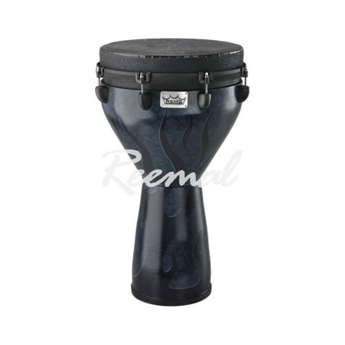 "Remo Djembe Key Tuned 14"" Diameter Shadow Flame Finish"