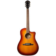 Fender Semi Acoustic Guitar Dreadnought Violin Burst - F-1020SCE