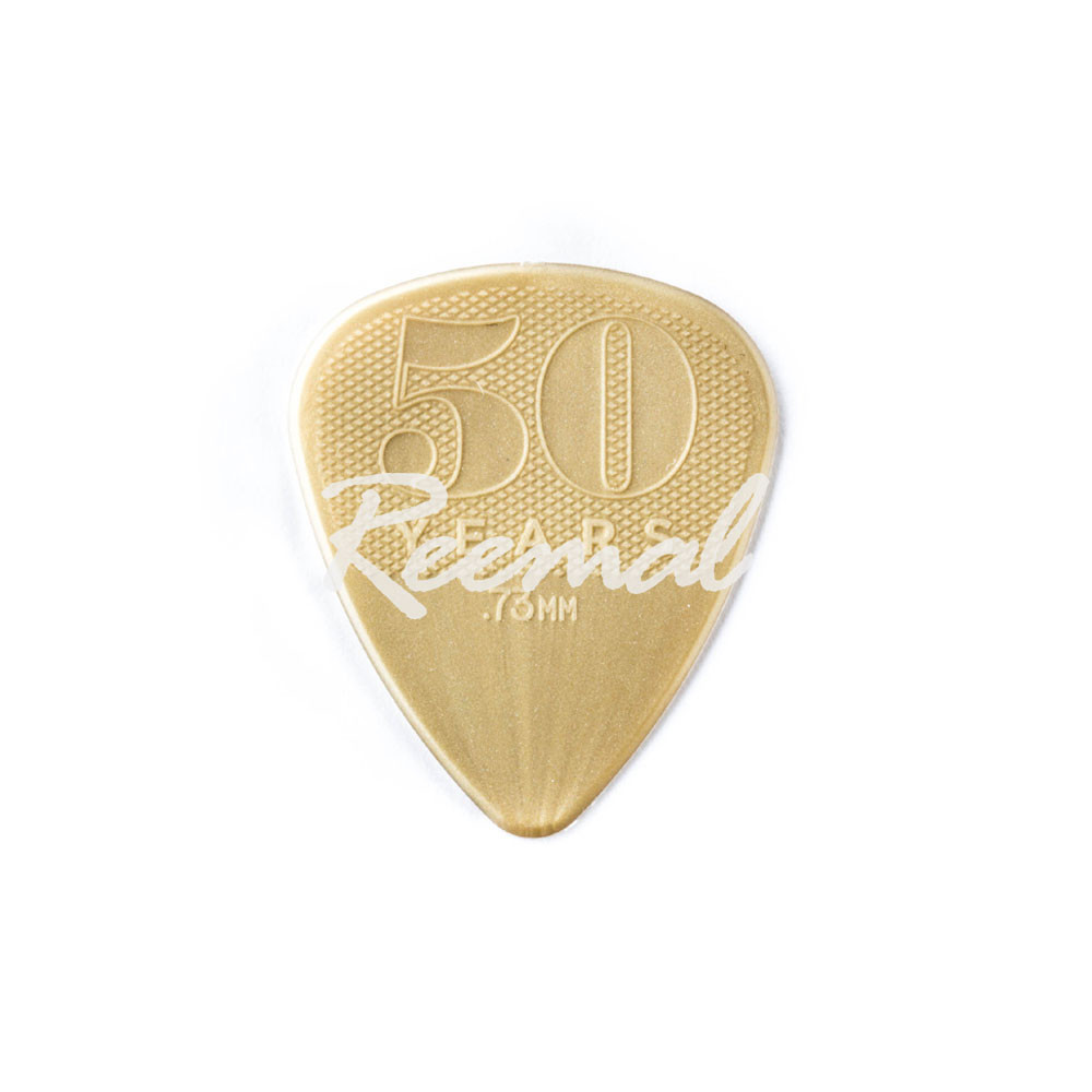 Dunlop Guitar Picks  12 pack  50th Anniversary Special Edition Nylon  .88MM