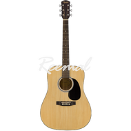 Fender Squier Acoustic Guitar Dreadnought Stained Hardwood Fingerboard SA150 NAT