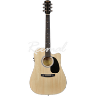 Fender Squier Acoustic Guitar Fishman Pick Up SA105CE NAT