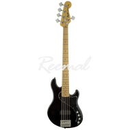 Fender Squier Bass Guitar Deluxe Dimension Bass V Maple BLK
