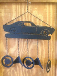 Vintage Muscle Car Windchime
