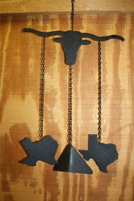 Longhorn Steer Windchime