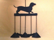 Weenie Dog Windchime