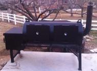 Stationary Backyard BBQ Pit