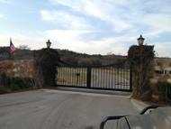 Subdivision Entrance Double Gate