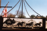 Stagecoach Art with Mica Back
