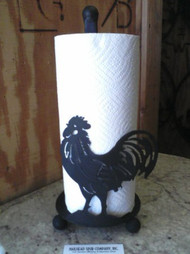 Rooster Paper Towel Holder