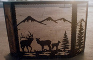 Mountain Scene Tri-fold