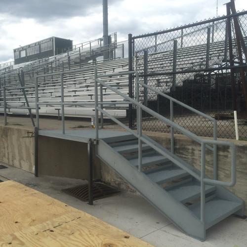 School Stadium Stairs