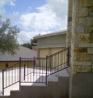 Entry Step Railing
