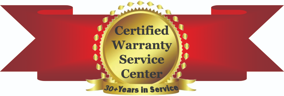 Certified Warranty Service Center