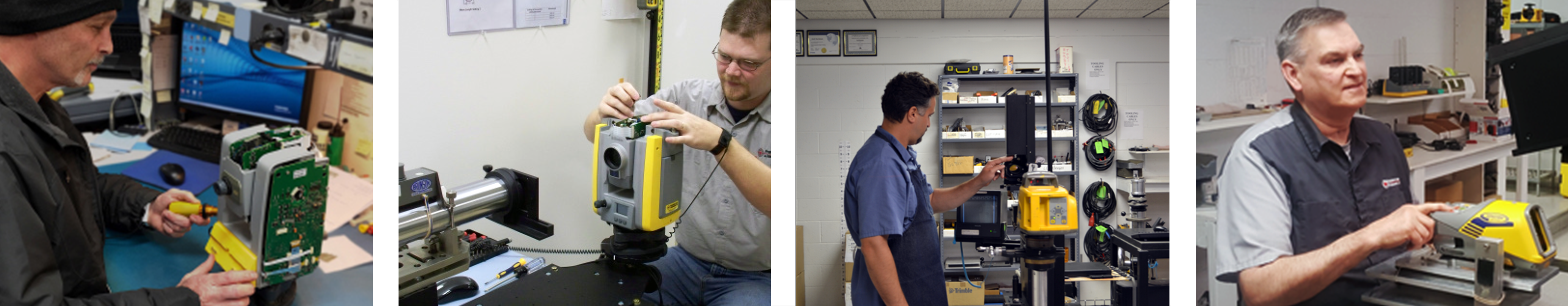 Service Repair Centers for Construction, Surveying, and GIS/Mapping Equipment