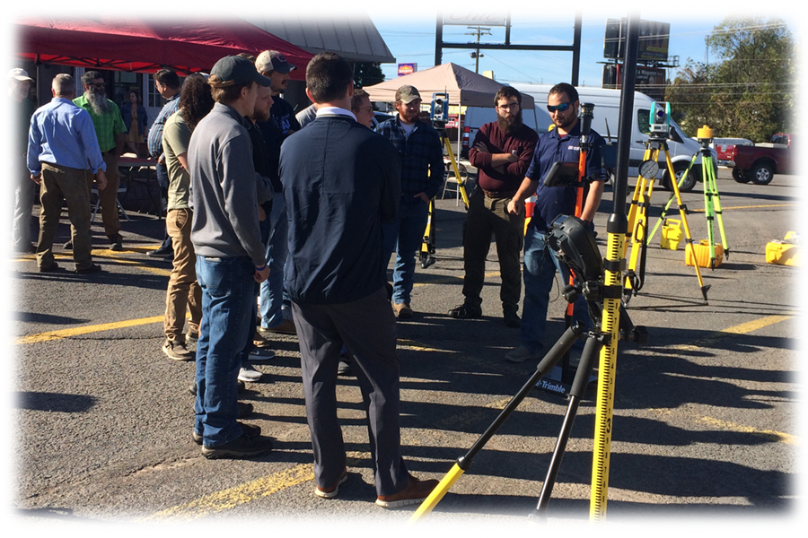 Bridgeport WV PLI Fall 2019 Open House Total Stations