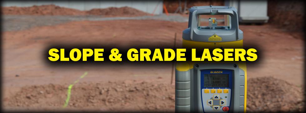 Slope & Grade Lasers