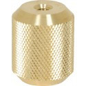 Seco 5/8 x 11 Female to 1/4 x 20 Female Prism Pole Adapter (2131-01)   Precision Laser & Instrument