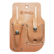 SitePro Leather Gammon Reel and Plumb Bob Sheath (51-10218G) | Precision Laser & Instrument