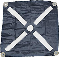 48in. Bullseye Iron Cross Aerial Target