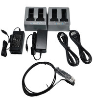 2 Dual Battery Chargers w/ Power Cords