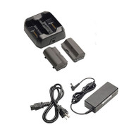 TSC7 External Battery Charger w/ International Power Cord and Battery 2-Pack (121358-01-1)