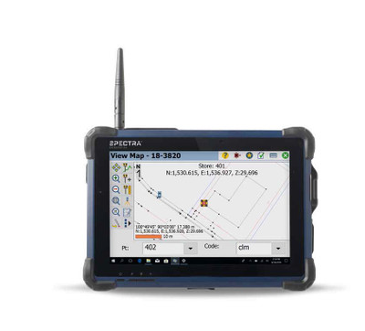 Spectra Geospatial ST10 Tablet   Precision Laser & Instrument