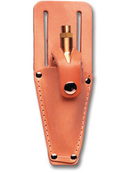 SitePro Leather Plumb Bob Sheaths (Small/Large) (15-1016/15-2432) | Precision Laser & Instrument