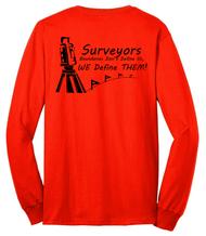 """""""Surveyors: Boundaries Don't Define Us, We Define THEM!"""""""