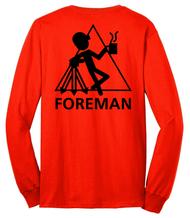 "Long Sleeve Shirt: ""Foreman"""
