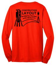"Long Sleeve Shirt: ""Construction Layout"""