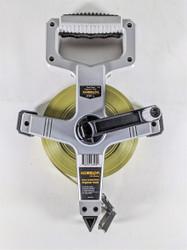 Komelon N6200E 200ft. Nylon Clad Measuring Tape Reel