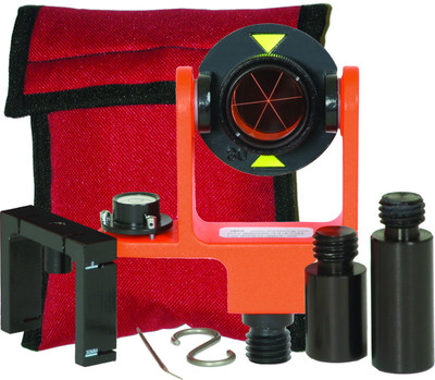 Seco 25mm Mini Prism System with Side Vial (6200-11-FOR) | Precision Laser & Instrument