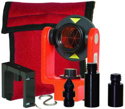 Seco 25mm Mini Prism System with Center Vial (6200-10-FOR)   Precision Laser & Instrument