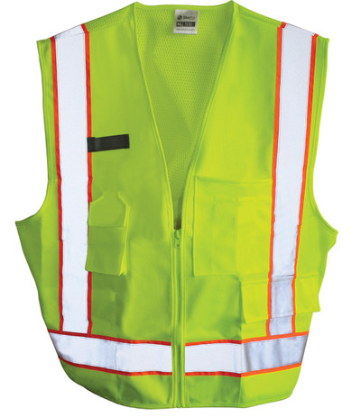 Light Weight Safety Vest front