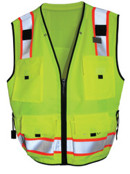 Light Weight Class 2 Safety Vest front