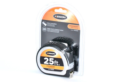 Keson 25 ft. Standard Series Measuring Tape  | Precision Laser & Instrument
