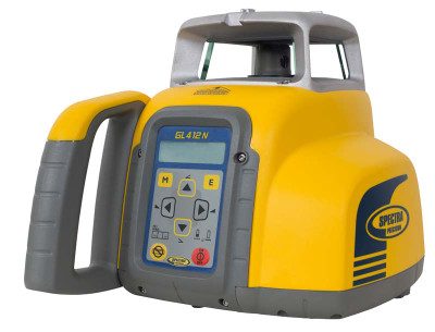 Spectra Precision GL412N Single Grade Laser Level | Precision Laser & Instrument