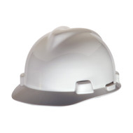White | MSA V-Gard Hard Hats | Precision Laser & Instrument | 24202