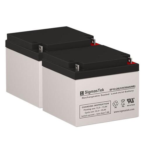 Amigo ETX 350 - 12V 26AH Wheelchair Battery Set
