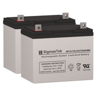 Quickie S626 Gp24 AGM Battery Set