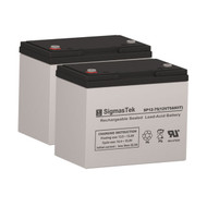 ActiveCare Medical Osprey 4410 - 12V 75AH Wheelchair Battery Set