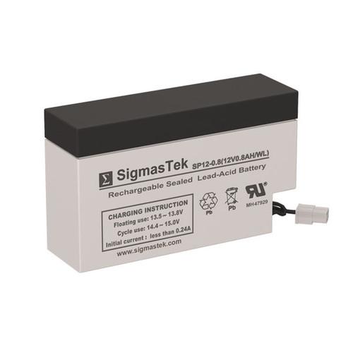 ADT Security 7603 12V 0.8AH Alarm Battery