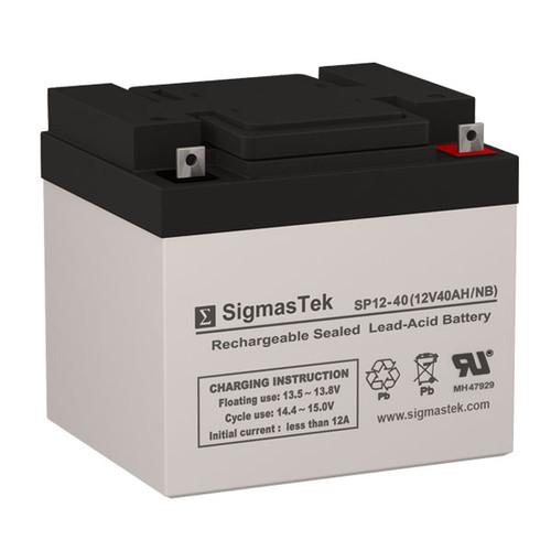 ADT Security 476631 12V 40AH Alarm Battery