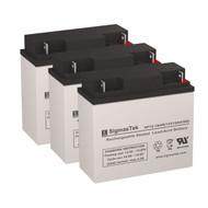 3 Alpha Technologies ALI Elite 1500TXL 12V 18AH UPS Replacement Batteries