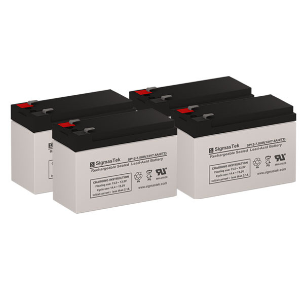 Rechargeable, high Rate Alpha Technologies PINBP 2000RM Replacement Battery Pack