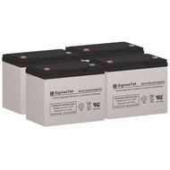 4 Alpha Technologies EBP 24EC 12V 75AH UPS Replacement Batteries
