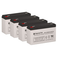 4 APC BACKUPS BK800 6V 12AH UPS Replacement Batteries